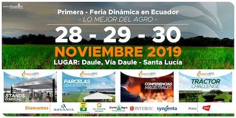 Expocampo Ecuador 2019 tickets