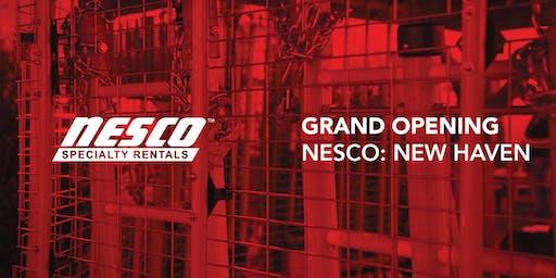 NESCO Specialty Rentals: New Haven Grand Opening