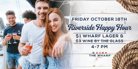 Riverside Happy-Hour at The Wharf tickets