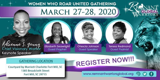 Warriors United Gathering: Women Who Roar!