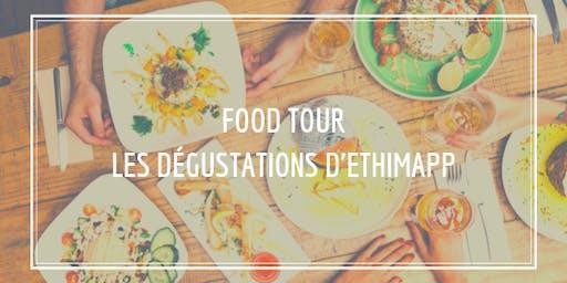 Food Tour - Les dégustations d'Ethimapp