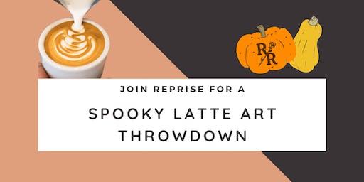Spooky Latte Art Throwdown