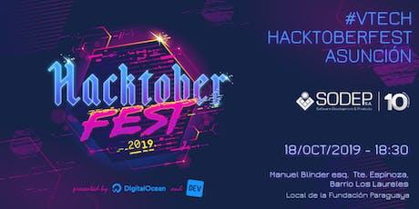 Hacktoberfest Vtech entradas