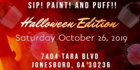 SIP PAINT & PUFF {HALLOWEEN HOOKAH EDITION}