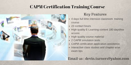 CAPM Certification Course in Inuvik, NT tickets