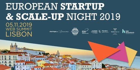 European Startup & Scale-Up Night 2019 tickets