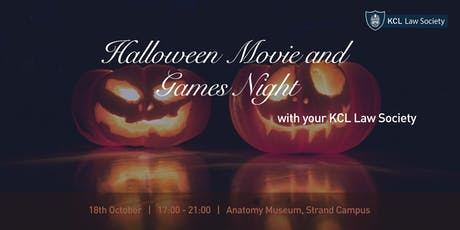 Halloween Movie and Games Night tickets