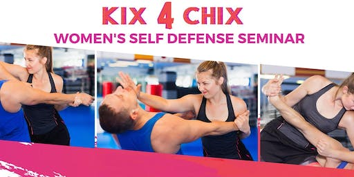 Kix 4 Chix (Women's Self-Defense Seminar)