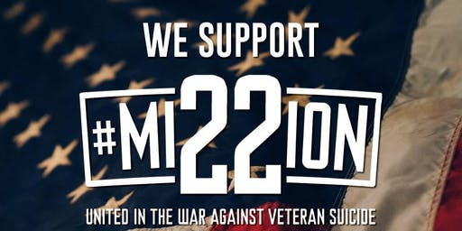 We Support Mission 22 - Honoring Our Veterans!