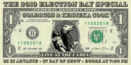 Election Night Special with Goldrush and Kenneka Cook