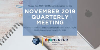 MENTOR Memphis Grizzlies November 2019 Quarterly Meeting