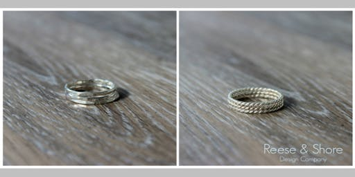 Sterling Silver Stacking Rings Tutorial