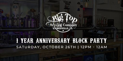 1 Year Anniversary Block Party