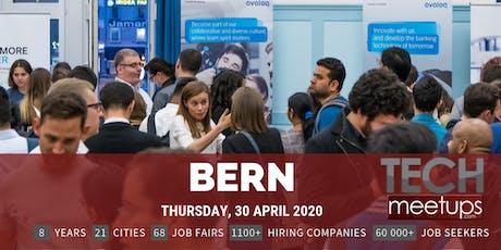 Bern Tech Job Fair Spring 2020 by Techmeetups tickets