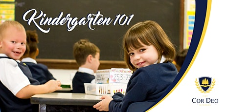 Kindergarten 101: A Look at Your Child's First Year tickets