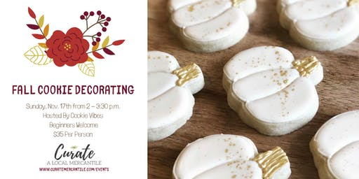 *SOLD OUT* Fall Cookie Decorating