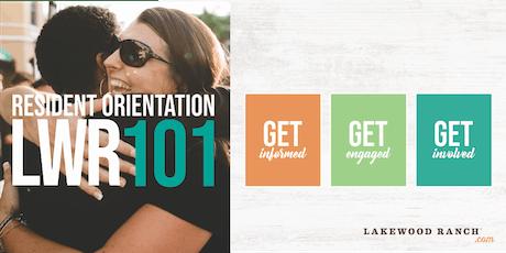 LWR 101: Resident Orientation tickets