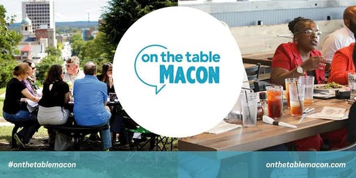 On The Table Macon: Leveraging Momentum in Downtown Macon