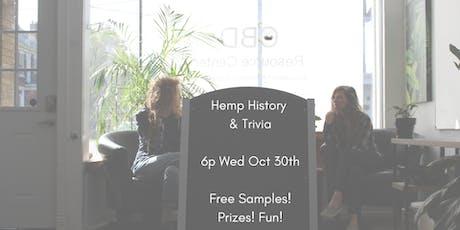 Hemp History & Trivia tickets