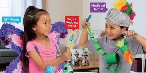 Lakeshore's Free Crafts for Kids World of Fantasy Saturdays in November (Palatine)