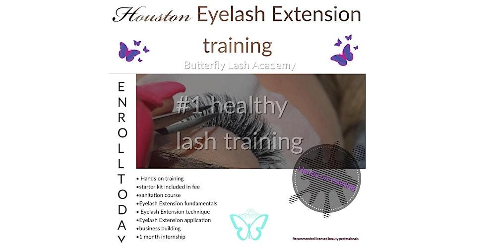 Houston Eyelash Extension Training Tickets Multiple Dates