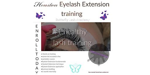Houston EyeLash extension training
