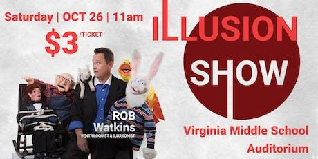 Rob Watkins Illusion Show tickets