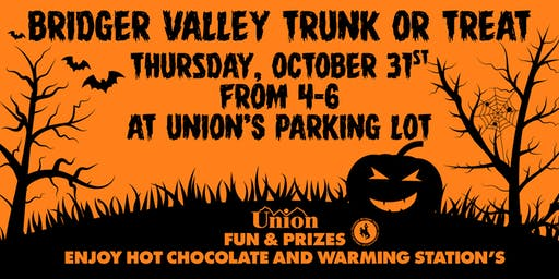Bridger Valley Trunk or Treat Spot Reservation