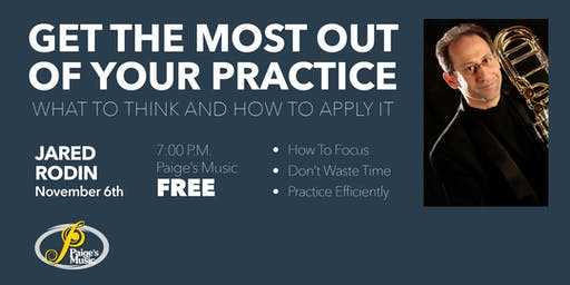 Get The Most Out Of Your Practice - with Jared Rodin