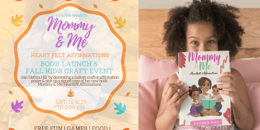 Mommy & Me Craft Event & Book Launch