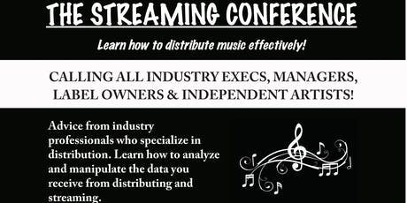 The Streaming conference tickets