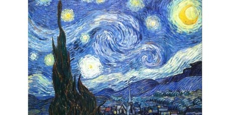"""SIP N PAINT """"STARRY NIGHT"""" Sunday Aft. Nov 10 (2019-11-10 starts at 2:30 PM) tickets"""