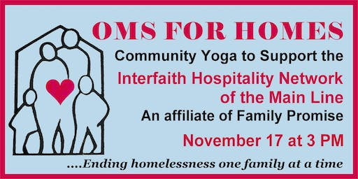 4th Annual OMS for HOMES Community Yoga Event