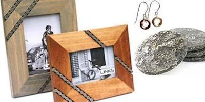 Pop-up: Upcycled Bike Part Jewelry and Home Goods