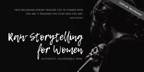 Raw Storytelling for Women tickets