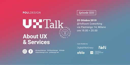 13° UX Talk - About UX & Services
