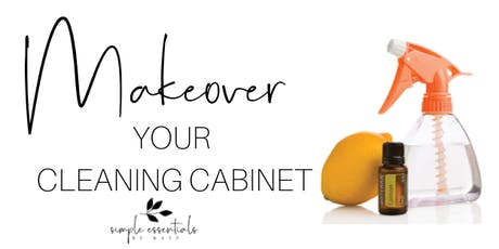 Makeover Your Cleaning Cabinet tickets