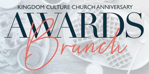 Kingdom Culture Church Anniversary Awards Brunch