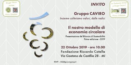 Gruppo Caviro: il nostro modello di Economia Circolare biglietti