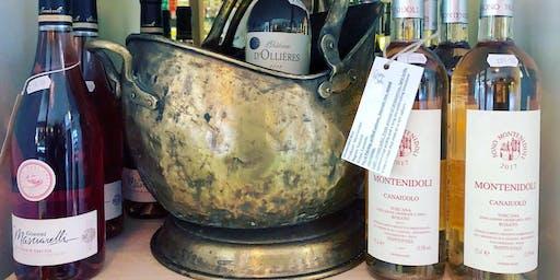 New Organic Wines Tasting