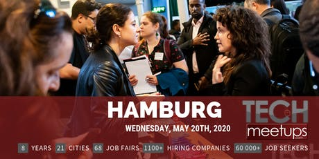 Hamburg Tech Job Fair Spring 2020 by Techmeetups billets