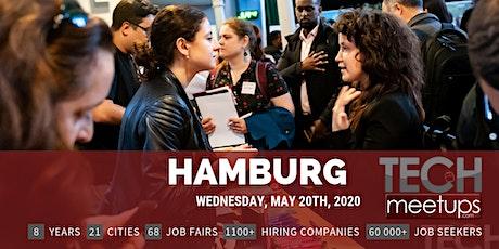 Hamburg Tech Job Fair Spring 2020 by Techmeetups tickets