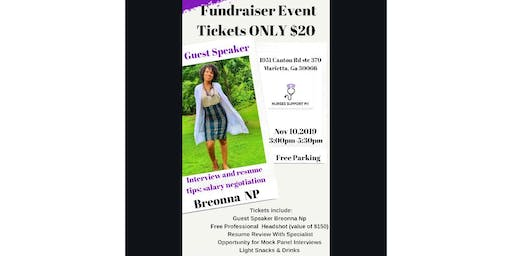 Fundraiser Event - Interview and Resume Tips; Salary Negotiation