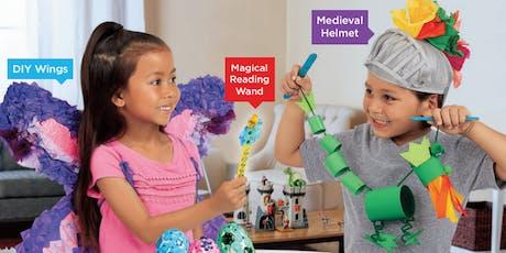 Lakeshore's Free Crafts for Kids World of Fantasy Saturdays in November (San Antonio) tickets