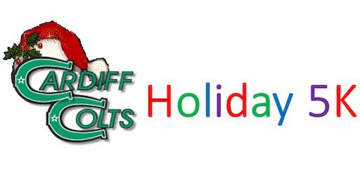 Cardiff Jr. High Holiday 5K Fundraiser