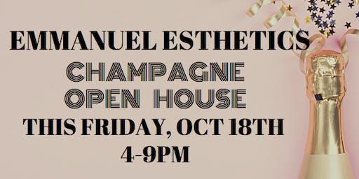 EMMANUEL Esthetics Champagne Open House!