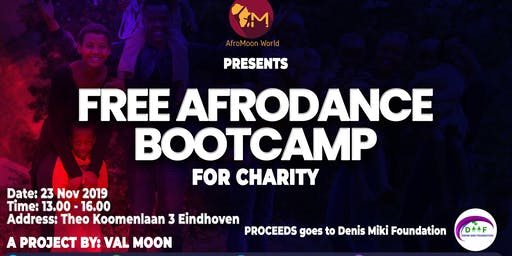 Free Afrodance Bootcamp: Dance for a Charity
