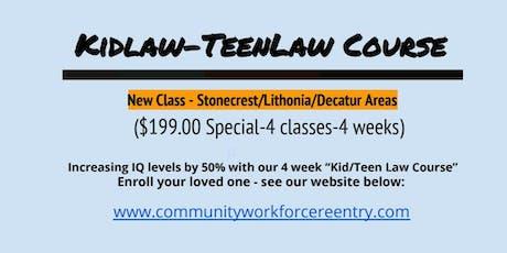 Kid/Teen Law IQ Blast Course tickets