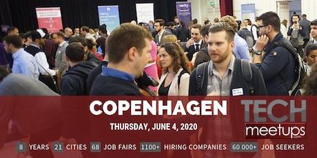Copenhagen Tech Job Fair Spring 2020 By Techmeetups tickets