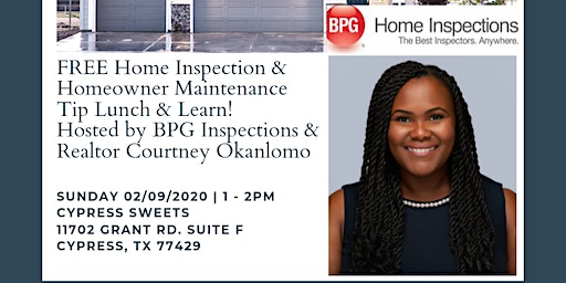FREE Lunch & Learn: Home Inspection & Homeowner Maintenance Tips